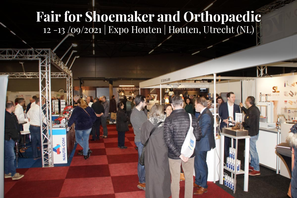 Fair for Shoemaker and Orthopaedic Expo Houten 12 -13 Settembre 2021